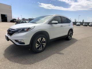 Used 2015 Honda CR-V Touring for sale in Winnipeg, MB