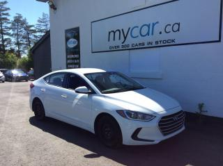 Used 2017 Hyundai Elantra L HEATED SEATS, BACKUP CAM, A/C!! for sale in Richmond, ON