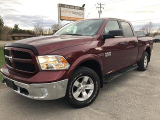 Used 2018 RAM 1500 SLT Outdoorsman Crew EcoDiesel with Heated Steering and Seats, AutoStart, BackupCam, Pwr Bucket Seats, D for sale in Kemptville, ON