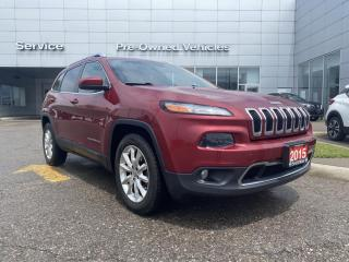 Used 2015 Jeep Cherokee Limited ONE OWNER ACCIDENT FREE TRADE, LIMITED PACKAGE. for sale in Toronto, ON