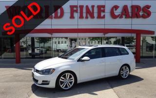 Used 2016 Volkswagen Golf Sportwagon 1.8 TSI Highline | *Accident Free* | Ontario Car! for sale in Etobicoke, ON