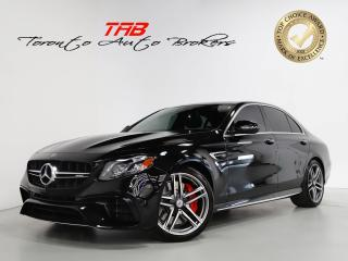 Used 2019 Mercedes-Benz E-Class E63 S AMG I 603HP I HUD I NAVI I 1-OWNER for sale in Vaughan, ON