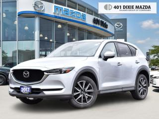 Used 2017 Mazda CX-5 GT 0.99% FINANCE AVAILABLE| ONE OWNER\ NO ACCIDENT for sale in Mississauga, ON
