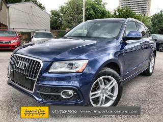 Used 2016 Audi Q5 2.0T Progressiv S-LINE  LEATHER  PANO ROOF  NAVI for sale in Ottawa, ON