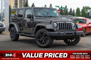 Used 2018 Jeep Wrangler Unlimited JK Sahara for sale in Calgary, AB