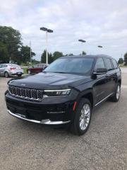 New 2021 Jeep Grand Cherokee L Summit for sale in Petrolia, ON