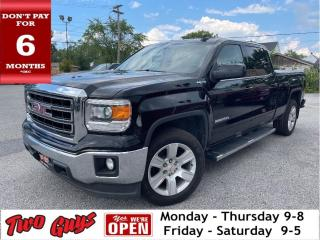 Used 2015 GMC Sierra 1500 SLE   4WD Crew   5 Pass   Tow Pkg   Bedliner   for sale in St Catharines, ON