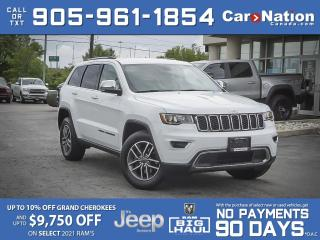 Used 2020 Jeep Grand Cherokee Limited 4x4  COMPANY DEMO  SOLD  SOLD  SOLD  SOLD  for sale in Burlington, ON
