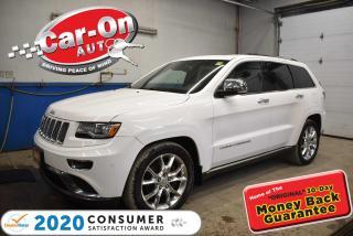 Used 2014 Jeep Grand Cherokee Summit | DIESEL | 20 ALLOYS | PARKING SENSORS for sale in Ottawa, ON