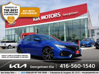 Used 2018 Honda Civic Hatchback SPORT | BU CAM | PWR SUNROOF | HTD SEATS | 39 K | for sale in Georgetown, ON