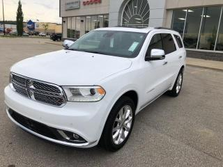 Used 2019 Dodge Durango CITADEL, NAVIGATION,SUNROOF,7 PASSENGER for sale in Slave Lake, AB