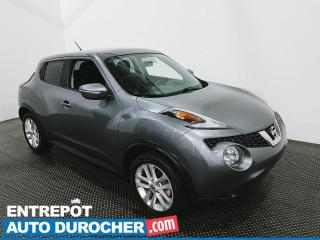 Used 2017 Nissan Juke SV - Bluetooth- Caméra de Recul - Climatiseur for sale in Laval, QC