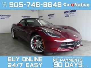 Used 2019 Chevrolet Corvette STINGRAY | 2LT | CONVERTIBLE | NAV | ONLY 6,395 KM for sale in Brantford, ON