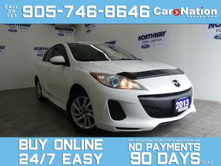 Used 2013 Mazda MAZDA3 GS | HATCHBACK |ALLOYS |CRUISE CONTROL | BLUETOOTH for sale in Brantford, ON