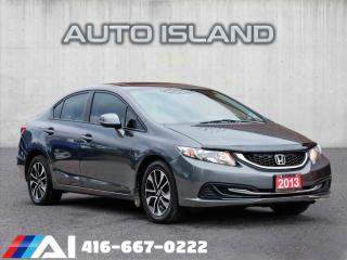 Used 2013 Honda Civic EX**SUNROOF**AUTOMATIC**BACK UP CAMERA for sale in North York, ON