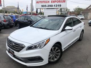 Used 2016 Hyundai Sonata Sport-Tech Navigation/Panoramic Roof/Camera for sale in Mississauga, ON