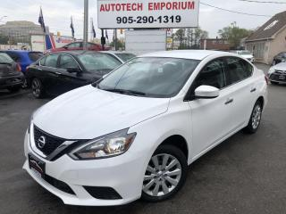 Used 2018 Nissan Sentra Prl White SV Camera/Collision Detection/Heated Seats&GPS* for sale in Mississauga, ON