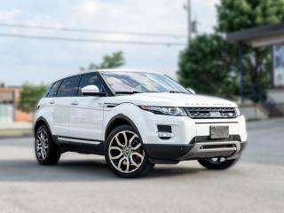 Used 2015 Land Rover Evoque HB Prestige |NAV|BACKUP|B.SPOT|ACC|GLASS ROOF |LOADED for sale in North York, ON