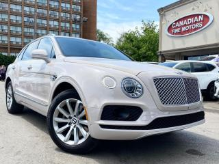 Used 2017 Bentley Bentayga RARE!! |CLEAN CARFAX | RED DIAMOND STCH INT | DRIVE ASIS PKG for sale in Scarborough, ON