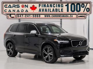 Used 2016 Volvo XC90 AWD T6 R-Design 7 Passenger, Navi, 360 Cam, Loaded for sale in Vaughan, ON