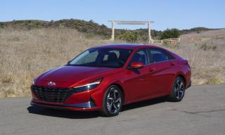 Used 2021 Hyundai Elantra Ultimate Pkg, Leather, Navi, Loaded for sale in Vaughan, ON