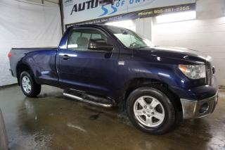 Used 2009 Toyota Tundra SR5 V8 LONG BED CERTIFIED 2YR WARRANTY *1 OWNER* CRUISE ALLOYS BED COVER for sale in Milton, ON