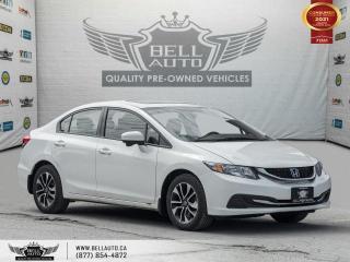 Used 2015 Honda Civic Sedan EX, REARCAM, SUNROOF, NO ACCIDENT, BLUETOOTH for sale in Toronto, ON