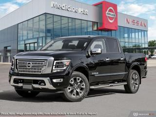 New 2021 Nissan Titan Platinum Reserve for sale in Medicine Hat, AB