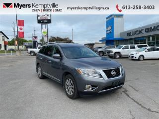 Used 2016 Nissan Pathfinder SV  - Bluetooth -  Heated Seats for sale in Kemptville, ON