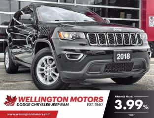 Used 2018 Jeep Grand Cherokee Laredo   Remote Start   Power Sunroof   4X4 for sale in Guelph, ON