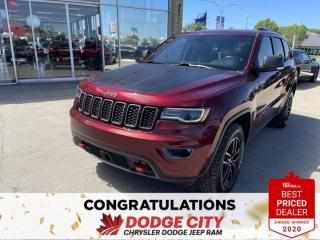Used 2017 Jeep Grand Cherokee Trailhawk-4WD,Vented Seats,Leather,Remote Start for sale in Saskatoon, SK