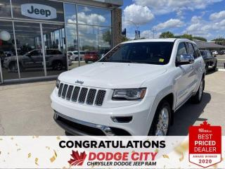 Used 2014 Jeep Grand Cherokee Summit-4WD,Back-Up Camera, Htd.Seats/Wheel for sale in Saskatoon, SK