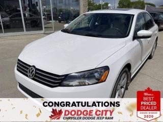 Used 2013 Volkswagen Passat Comfortline- Accident Free, Heated Seats, Sunroof for sale in Saskatoon, SK