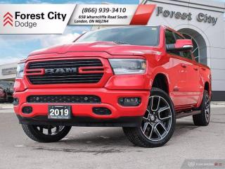 Used 2019 RAM 1500 REBEL SPORT V8 ( ONE OWNER LOW KILOMETERS CLEAN CARFAX ) for sale in London, ON