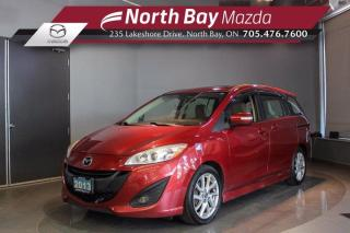 Used 2013 Mazda MAZDA5 GT - Automatic - 65,427KMS! - Heated Seats for sale in North Bay, ON