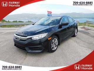 Used 2016 Honda Civic SEDAN LX for sale in Corner Brook, NL