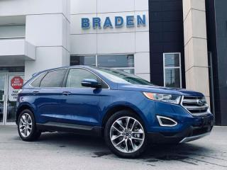 Used 2018 Ford Edge Titanium for sale in Kingston, ON