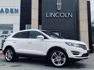 Used 2017 Lincoln MKC Reserve for sale in Kingston, ON