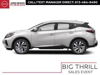 New 2021 Nissan Murano Platinum for sale in Kingston, ON