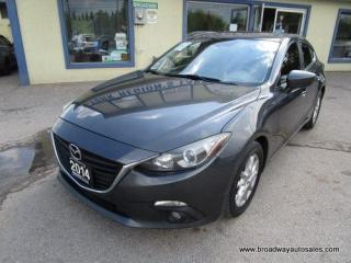 Used 2014 Mazda MAZDA3 6-SPEED MANUAL TOURING EDITION 5 PASSENGER 2.0L - DOHC.. SKYACTIV TECH.. BACK-UP CAMERA.. BLUETOOTH SYSTEM.. POWER SUNROOF.. for sale in Bradford, ON