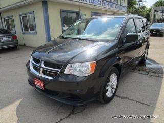 Used 2016 Dodge Grand Caravan POWER EQUIPPED SXT EDITION 7 PASSENGER 3.6L - V6.. CAPTAINS.. STOW-N-GO.. DVD PLAYER.. BACK-UP CAMERA.. BLUETOOTH SYSTEM.. ECON-PACKAGE.. for sale in Bradford, ON