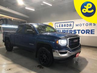 Used 2017 GMC Sierra 1500 Double Cab 4X4 5.3L V8 * 6-Speed Automatic * Back Up Camera * 6 Passenger * Cruise Control * On Star * Automatic Headlights * Automatic Windows * Viny for sale in Cambridge, ON