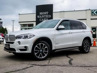 Used 2017 BMW X5 xDRIVE|ESPRESSO LEATHER|PANO SUNROOF|360 CAMERA|NAVIGATION for sale in Kitchener, ON