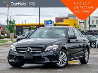 Used 2019 Mercedes-Benz C-Class C 3004Matic Navigation Panoramic Sunroof Bluetooth Blind Spot Keyless Heated Front Seats 17
