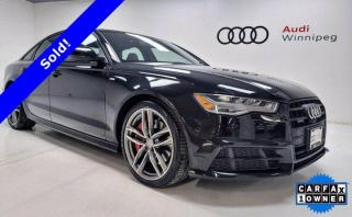 Used 2017 Audi A6 3.0T Competition w/Black Optics *Local-Low KM* for sale in Winnipeg, MB