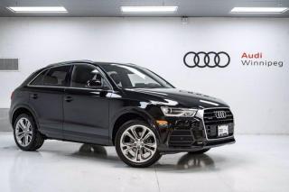 Used 2017 Audi Q3 Progressiv w/Panoramic Sunroof *Local-Very Low KM* for sale in Winnipeg, MB