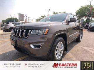 New 2021 Jeep Grand Cherokee Laredo | Backup Camera | 0% Available | for sale in Winnipeg, MB