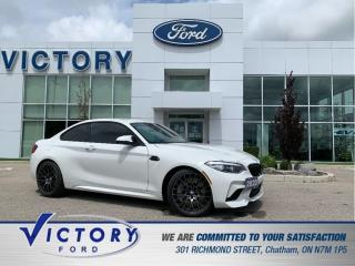 Used 2020 BMW M2 Competition   6 SPEED MANUAL   LEATHER SEATS   NAV for sale in Chatham, ON