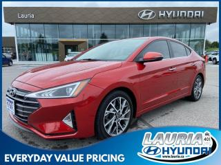Used 2019 Hyundai Elantra Luxury - LOW KMS for sale in Port Hope, ON