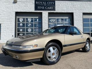 Used 1990 Buick Reatta Coupe RARE CARFAX CLEAN CERTIFIED for sale in Guelph, ON